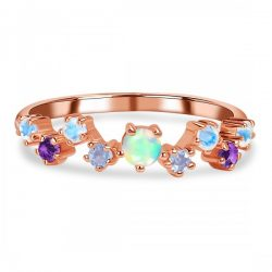 Buy Wholesale Sterling Silver Opal Ring