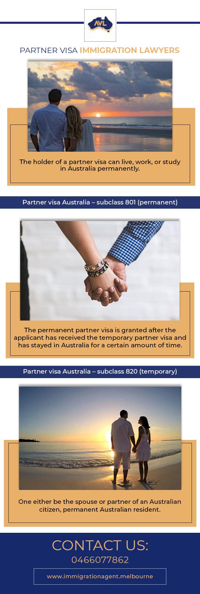Partner Visa Immigration Lawyers – Immigration Agent Melbourne