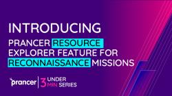 Introducing Prancer Resource Explorer feature for reconnaissance missions