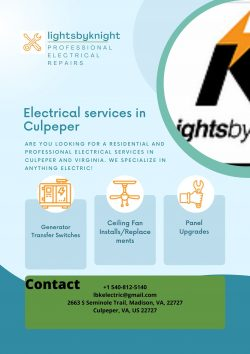 electrical services in Culpeper