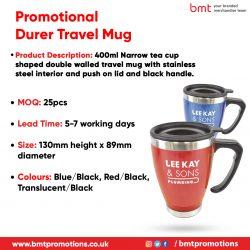 Promotional Durer Travel Mug