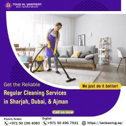 Regular Cleaning Service in Sharjah
