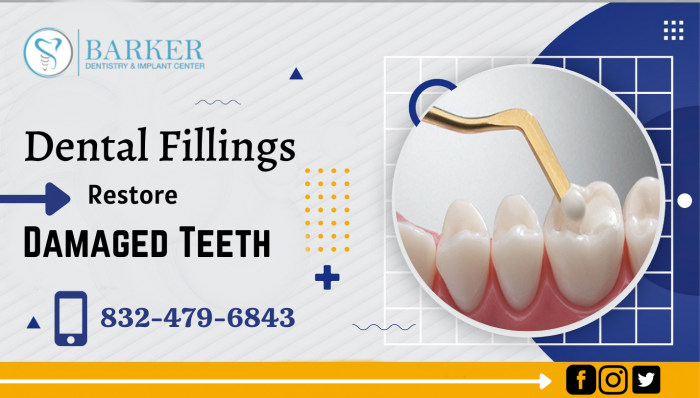 Remove your Cavities by Dental Fillings