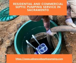 Residential and Commercial Septic Pumping Service in Sacramento