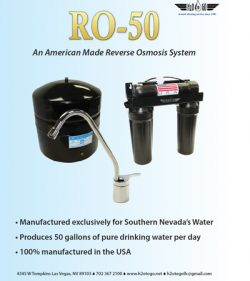 Reverse osmosis system Nevada