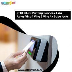 RFID CARD Printing Services Assa Abloy Ving 1 Ving 2 Ving 4k Saba locks