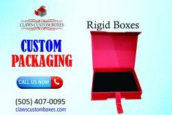 Custom Rigid Boxes  Custom Packaging Boxes  Claws Custom Boxes