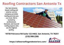 Roofing Contractors San Antonio Tx – Alltex Roofing and Exteriors