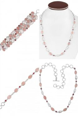 Shop Real Rose Quartz Jewelry