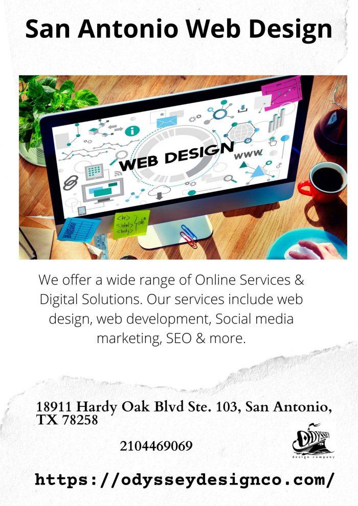 San Antonio Web Design – Odyssey Design Co