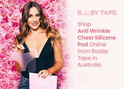 Shop Anti Wrinkle Chest Silicone Pad Online from Booby Tape in Australia