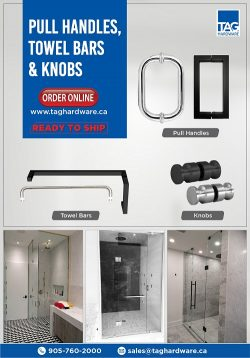 Shop the best sections for Glass shower doors offered by TAG Hardware
