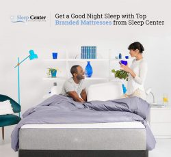 Get a Good Night Sleep with Top Branded Mattresses from Sleep Center