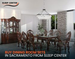 Buy Dining Room Sets in Sacramento from Sleep Center