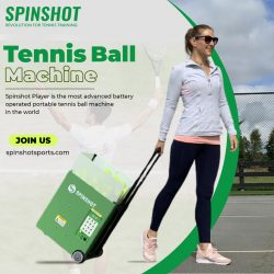 Buy Tennis Ball Machine At SpinshotSports
