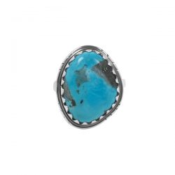 Real Turquoise Ring |Rananjay Exports