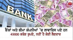 Banks and insurance companies have Rs 49,000 crore unclaimed.