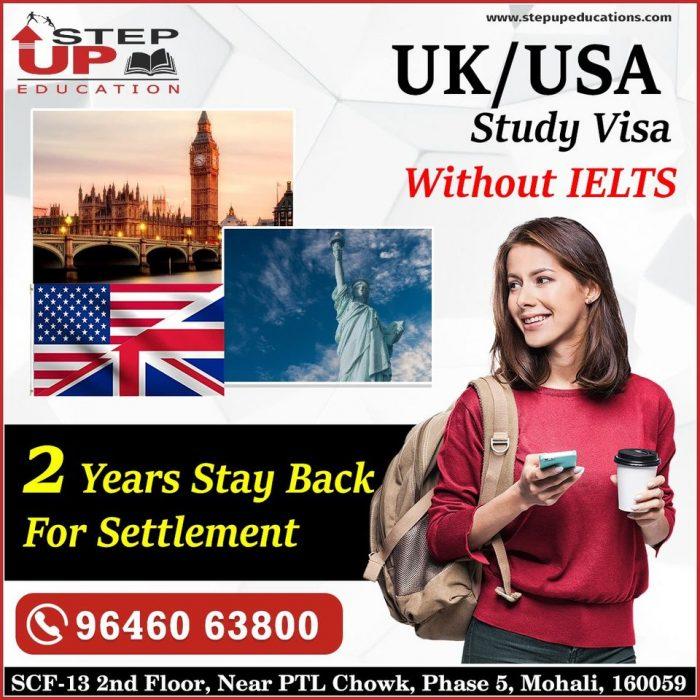 USA / UK Study Visa in Top Ranking Colleges / Universities