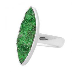 Real Green Uvarovite Stone jewelry