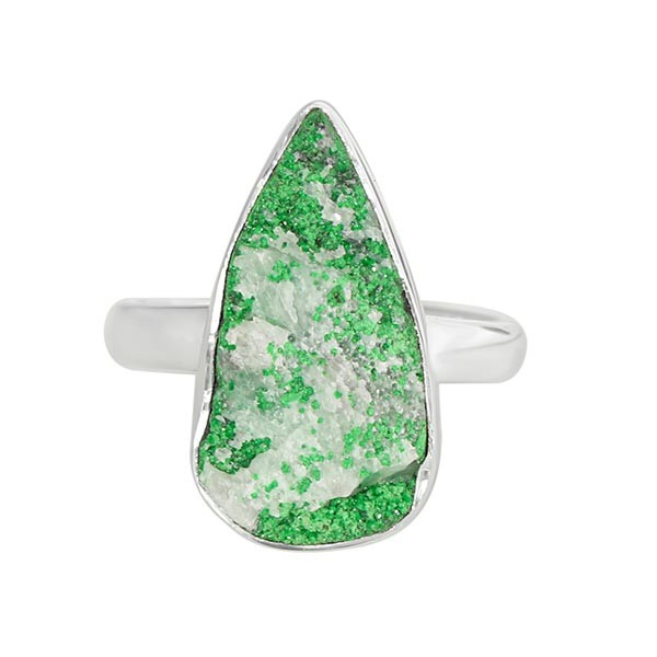 Real Uvarovite Stone Jewelry