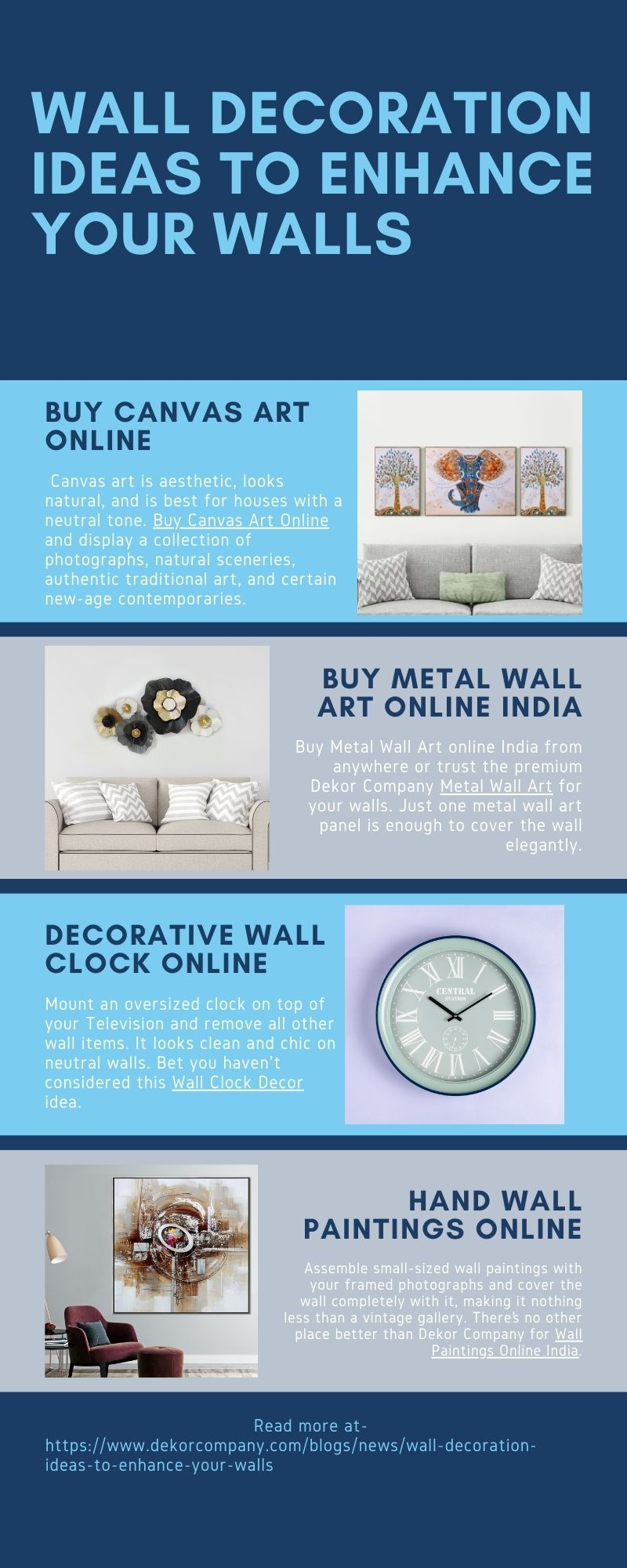 Top Wall Decoration Ideas to Enhance Your Walls