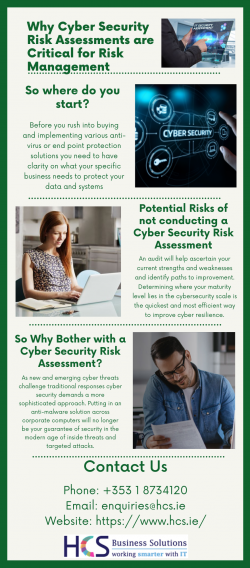 Why Cyber Security Risk Assessments are Critical for Risk Management