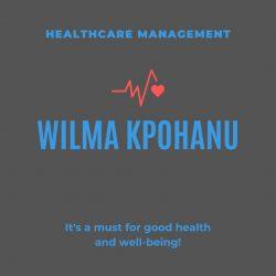 Wilma Kpohanu  Health Management Specialist