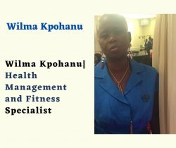 Wilma Kpohanu  Health Management and Fitness Specialist