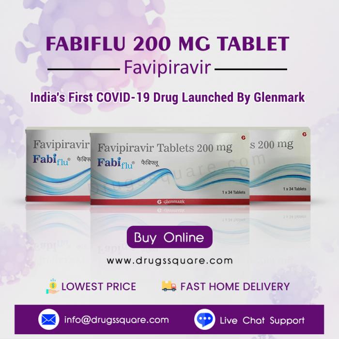 Buy Fabiflu Favipiravir 200mg online at Lowest price