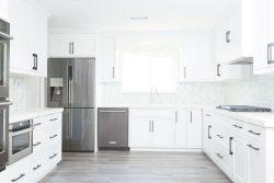 Modern Farm House Kitchen by Lulu Design