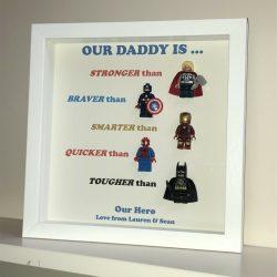 Best Personalised Superhero Frame Online