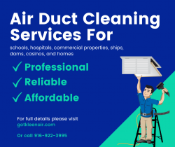 Affordable Air Duct Cleaning Rocklin Services