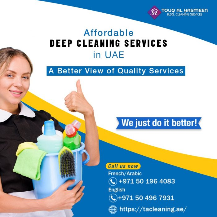 Deep Cleaning Services Sharjah