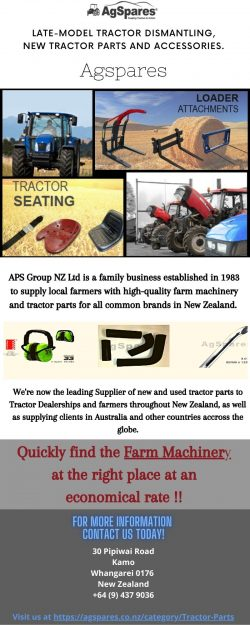 Buy Farm Machinery Online – Agspares