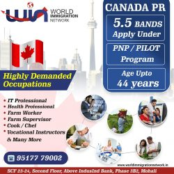 Apply Canada PR With 5,5 Bands