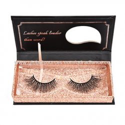 Women's used the best brand packaging of eyelashes boxes
