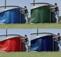 Portable Backstop Pro Deluxe – Replacement Skirt