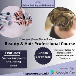 Start Career as Beauty Specialist