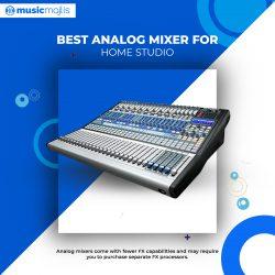 Best Analog Mixer for Home Studio – MusicMajlis