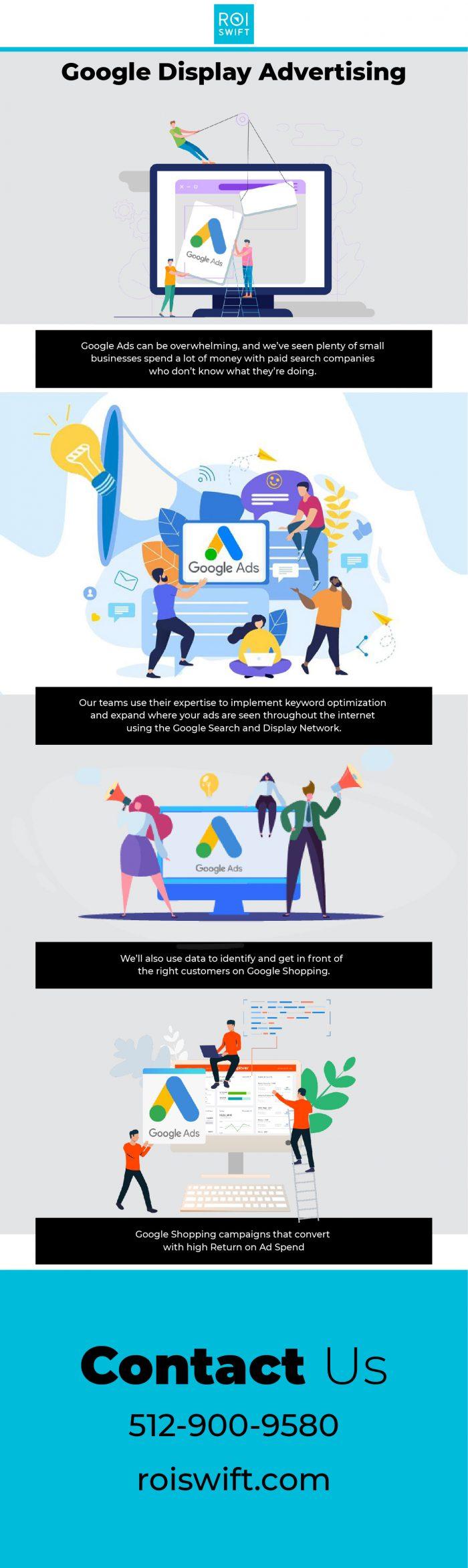 Best Google Display Advertising at Online – ROI Swift