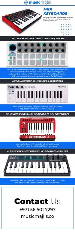 Best MIDI Keyboard at Online – Music Majlis