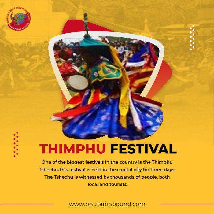 Best Thimphu Festival Tour in Bhutan at Bhutan Best Inbound Tour