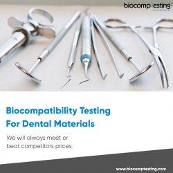 Biocompatibility Testing For Dental Materials