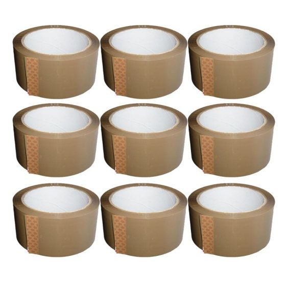 Buy Brown Packing Tape for Safe and Secure Packaging – Wellpack