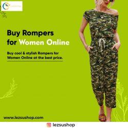 Buy Rompers for Women Online