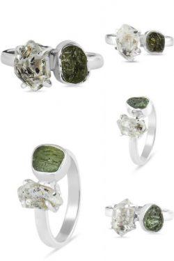 Green Moldavite Stone At Wholesale Prices.