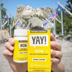 Chewable Iron Supplement for Kids (Orange Flavor)