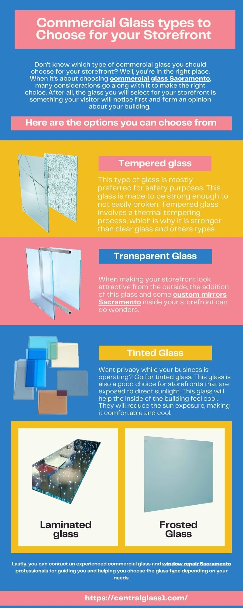 5 Types of Commercial Glass to Consider for Your Storefront