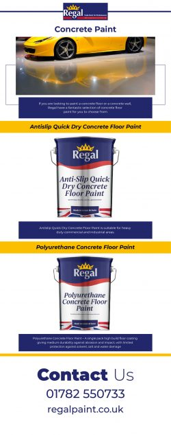 Buy Concrete Paint at The Best Price Offer