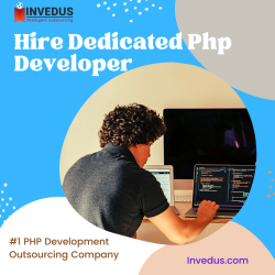 Hire Dedicated PHP Developer – Invedus Outsourcing